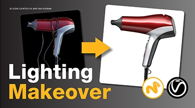 Lighting Makeover 01: Hair Dryer