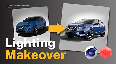 Lighting Makeover 02: Nissan Qashqai Car