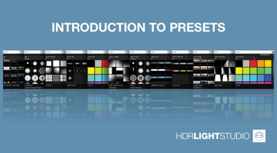 1. Introduction to Presets
