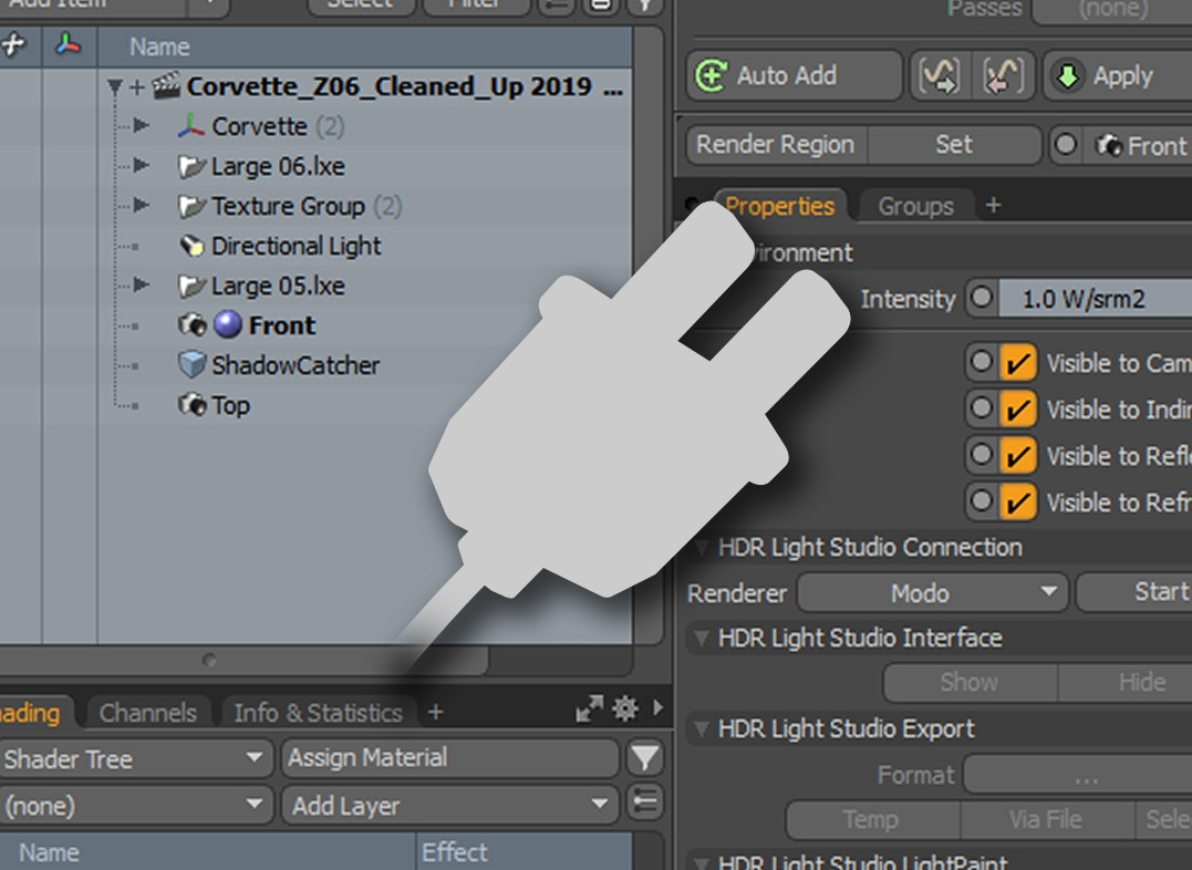 HDR Light Studio plugin for MODO
