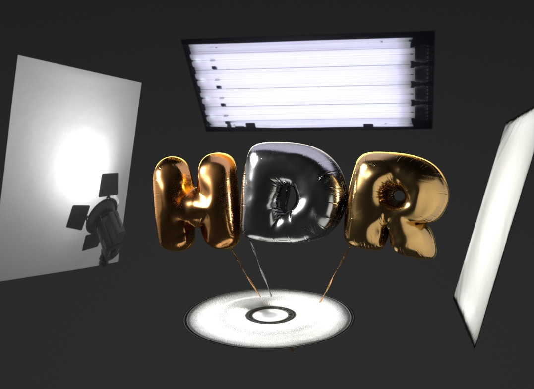 HDR Area Lights in Cinema 4D