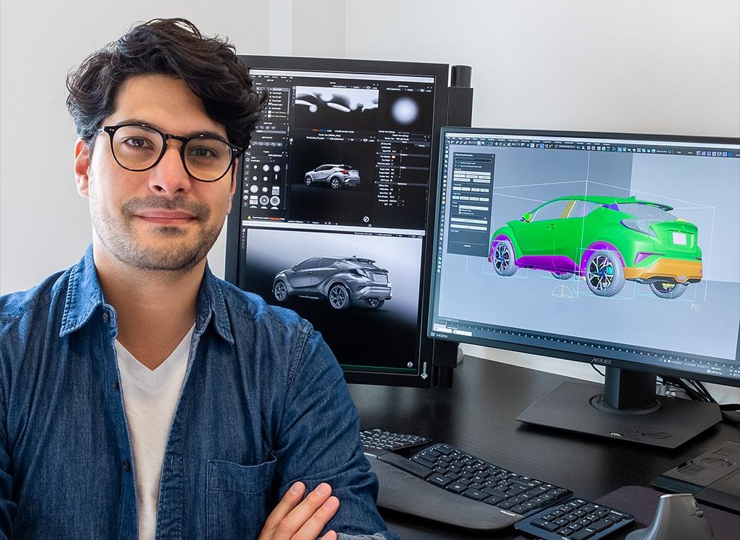 Vincent Salasombath using HDR Light Studio