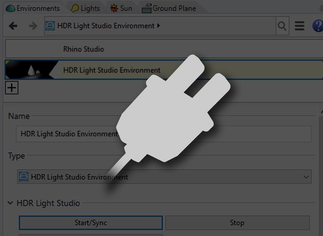 HDR Light Studio plugin for Rhino 3D