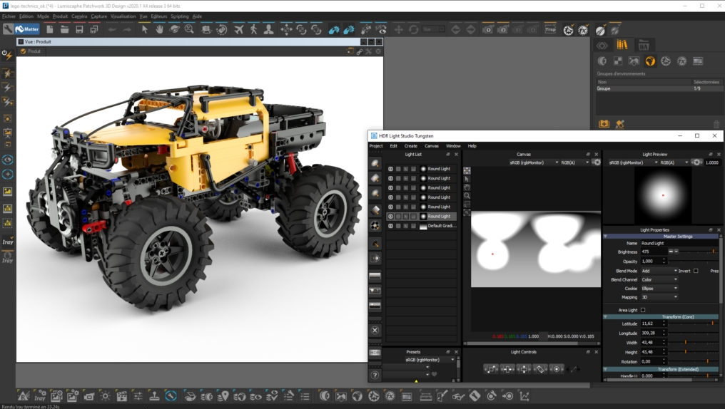 HDR Light Studio with Patchwork 3D