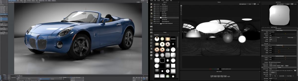 HDR Light Studio with LightWave 3D